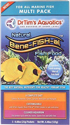 Multi-Pack Of Bene-Fish-Al Diy Fish Food - Midwest Pet ...